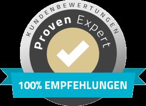 Proven-Expert - Von Kunden empfohlen